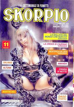Copertina SKORPIO ANNO 25 n.3 - SKORPIO 2001             3, EDITORIALE AUREA