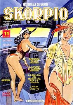 Copertina SKORPIO ANNO 25 n.4 - SKORPIO 2001             4, EDITORIALE AUREA