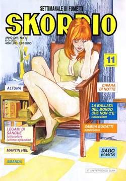 Copertina SKORPIO ANNO 25 n.9 - SKORPIO 2001             9, EDITORIALE AUREA