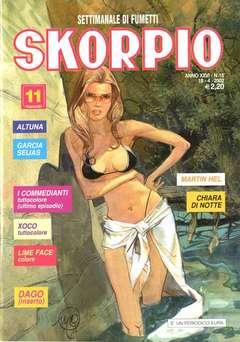 Copertina SKORPIO ANNO 26 n.15 - SKORPIO 2002            15, EDITORIALE AUREA