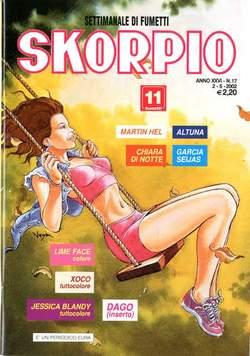 Copertina SKORPIO ANNO 26 n.17 - SKORPIO 2002            17, EDITORIALE AUREA