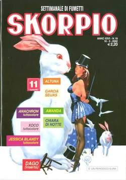 Copertina SKORPIO ANNO 26 n.19 - SKORPIO 2002            19, EDITORIALE AUREA