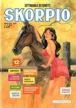 Copertina SKORPIO ANNO 26 n.23 - SKORPIO 2002            23, EDITORIALE AUREA
