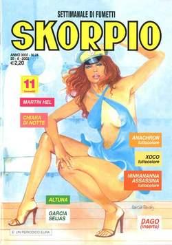 Copertina SKORPIO ANNO 26 n.24 - SKORPIO 2002            24, EDITORIALE AUREA