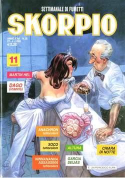 Copertina SKORPIO ANNO 26 n.25 - SKORPIO 2002            25, EDITORIALE AUREA