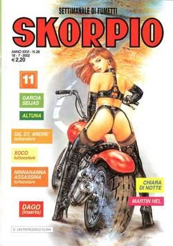Copertina SKORPIO ANNO 26 n.28 - SKORPIO 2002            28, EDITORIALE AUREA