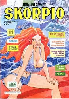 Copertina SKORPIO ANNO 26 n.30 - SKORPIO 2002            30, EDITORIALE AUREA