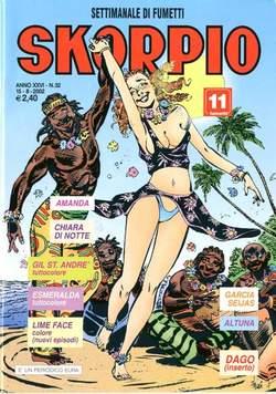 Copertina SKORPIO ANNO 26 n.32 - SKORPIO 2002            32, EDITORIALE AUREA