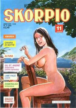 Copertina SKORPIO ANNO 26 n.33 - SKORPIO 2002            33, EDITORIALE AUREA