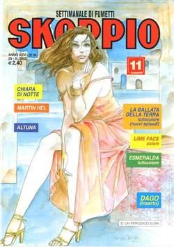Copertina SKORPIO ANNO 26 n.34 - SKORPIO 2002            34, EDITORIALE AUREA