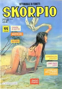 Copertina SKORPIO ANNO 26 n.35 - SKORPIO 2002            35, EDITORIALE AUREA