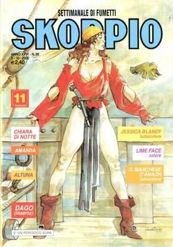 Copertina SKORPIO ANNO 26 n.39 - SKORPIO 2002            39, EDITORIALE AUREA