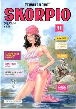 Copertina SKORPIO ANNO 26 n.41 - SKORPIO 2002            41, EDITORIALE AUREA