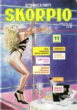 Copertina SKORPIO ANNO 26 n.42 - SKORPIO 2002            42, EDITORIALE AUREA