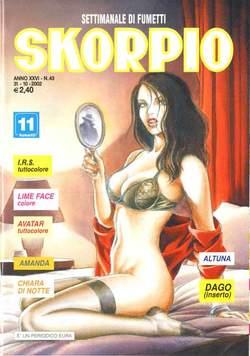 Copertina SKORPIO ANNO 26 n.43 - SKORPIO 2002            43, EDITORIALE AUREA