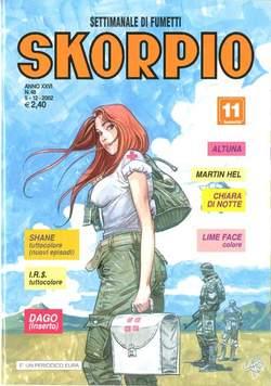 Copertina SKORPIO ANNO 26 n.48 - SKORPIO 2002            48, EDITORIALE AUREA