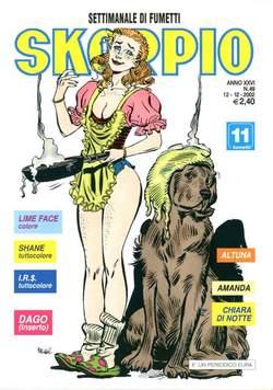 Copertina SKORPIO ANNO 26 n.49 - SKORPIO 2002            49, EDITORIALE AUREA