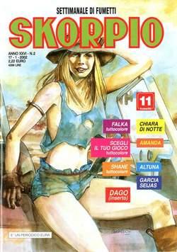 Copertina SKORPIO ANNO 26 n.2 - SKORPIO 2002             2, EDITORIALE AUREA