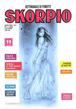 Copertina SKORPIO ANNO 26 n.3 - SKORPIO 2002             3, EDITORIALE AUREA