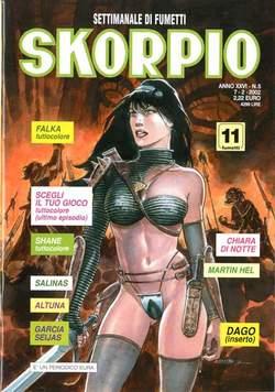 Copertina SKORPIO ANNO 26 n.5 - SKORPIO 2002             5, EDITORIALE AUREA