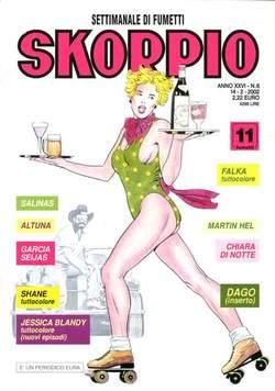 Copertina SKORPIO ANNO 26 n.6 - SKORPIO 2002             6, EDITORIALE AUREA