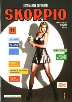 Copertina SKORPIO ANNO 26 n.8 - SKORPIO 2002             8, EDITORIALE AUREA