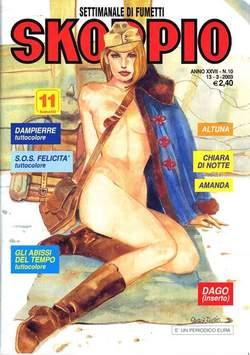 Copertina SKORPIO ANNO 27 n.10 - SKORPIO 2003            10, EDITORIALE AUREA