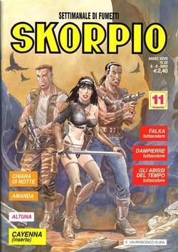 Copertina SKORPIO ANNO 27 n.22 - SKORPIO 2003            22, EDITORIALE AUREA