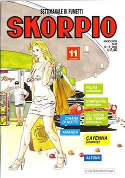 Copertina SKORPIO ANNO 27 n.23 - SKORPIO 2003            23, EDITORIALE AUREA