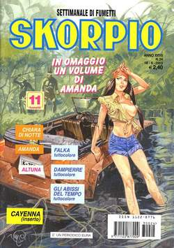 Copertina SKORPIO ANNO 27 n.24 - SKORPIO 2003            24, EDITORIALE AUREA