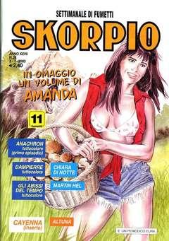 Copertina SKORPIO ANNO 27 n.26 - SKORPIO 2003            26, EDITORIALE AUREA