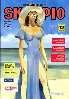 Copertina SKORPIO ANNO 27 n.28 - SKORPIO 2003            28, EDITORIALE AUREA