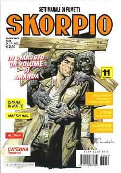 Copertina SKORPIO ANNO 27 n.29 - SKORPIO 2003            29, EDITORIALE AUREA