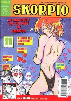Copertina SKORPIO ANNO 27 n.34 - SKORPIO 2003            34, EDITORIALE AUREA