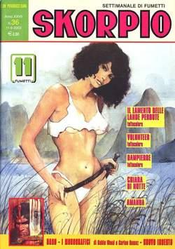 Copertina SKORPIO ANNO 27 n.36 - SKORPIO 2003            36, EDITORIALE AUREA