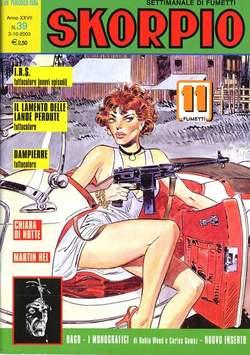 Copertina SKORPIO ANNO 27 n.39 - SKORPIO 2003            39, EDITORIALE AUREA