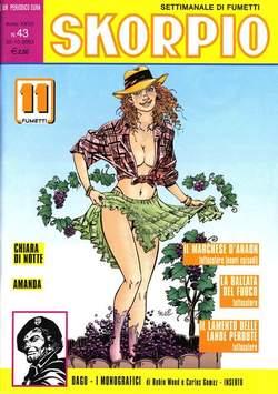 Copertina SKORPIO ANNO 27 n.43 - SKORPIO 2003            43, EDITORIALE AUREA