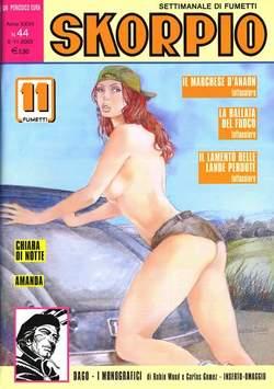 Copertina SKORPIO ANNO 27 n.44 - SKORPIO 2003            44, EDITORIALE AUREA