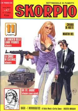 Copertina SKORPIO ANNO 27 n.47 - SKORPIO 2003            47, EDITORIALE AUREA