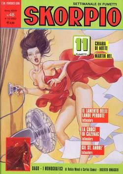 Copertina SKORPIO ANNO 27 n.48 - SKORPIO 2003            48, EDITORIALE AUREA