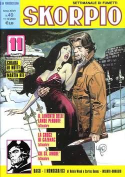 Copertina SKORPIO ANNO 27 n.49 - SKORPIO 2003            49, EDITORIALE AUREA