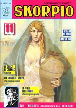 Copertina SKORPIO ANNO 27 n.51 - SKORPIO 2003            51, EDITORIALE AUREA