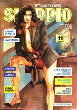 Copertina SKORPIO ANNO 27 n.5 - SKORPIO 2003             5, EDITORIALE AUREA