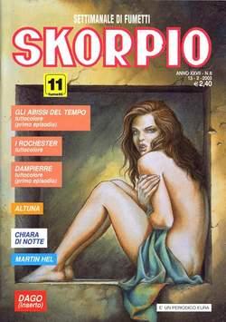 Copertina SKORPIO ANNO 27 n.6 - SKORPIO 2003             6, EDITORIALE AUREA