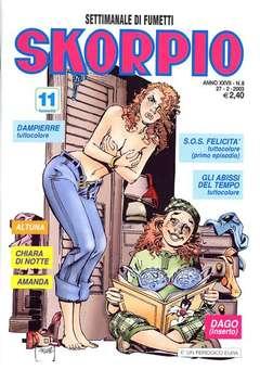 Copertina SKORPIO ANNO 27 n.8 - SKORPIO 2003             8, EDITORIALE AUREA