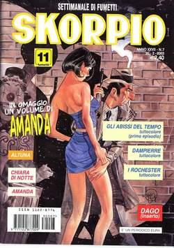 Copertina SKORPIO ANNO 27 n.7 - SKORPIO 2003             7, EDITORIALE AUREA