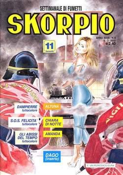 Copertina SKORPIO ANNO 27 n.9 - SKORPIO 2003             9, EDITORIALE AUREA
