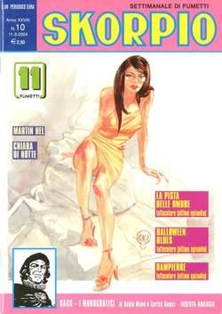Copertina SKORPIO ANNO 28 n.10 - SKORPIO 2004            10, EDITORIALE AUREA