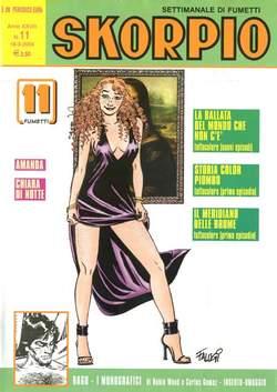 Copertina SKORPIO ANNO 28 n.11 - SKORPIO 2004            11, EDITORIALE AUREA