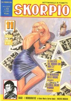 Copertina SKORPIO ANNO 28 n.13 - SKORPIO 2004            13, EDITORIALE AUREA